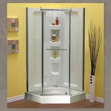 38 Neo Angle Shower Door Mirolin 38 Neo Angle Shower Package With Walls Royal Bath Place