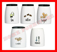 ebay kitchen canisters modern tea and coffee canisters home furniture design
