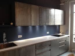 enduit decoratif cuisine façade de cuisine en métal marius aurenti