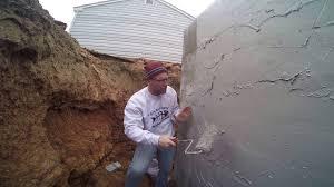 Waterproof Basement Sealer Basement Waterproofing Easy Diy Block Foundation Exterior