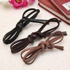 leather ribbon buy 1pc 4mm flat ribbon pu leather cord diy bracelet jewelry