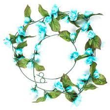 turquoise mini garland hobby lobby 146247