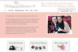 wedding planner packages wedding planner website design simple site guru simple site guru