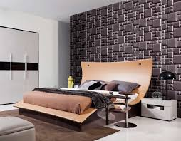 contemporary leather bed with lights vg lance contemporary bedroom