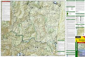 Oregon Topographic Map by Mt Hood U0026 Willamette National Forest Trails Illustrated Map
