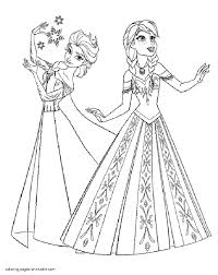 elsa and anna coloring pages to print elsa anna coloring pages fancy ana acpra