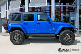 black chrome jeep jeep wrangler with 20in black rhino tanay wheels exclusively from