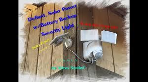 Defiant Motion Security Led Light Solar Powered by Home Depot Review Solar Powered Motion Led Security Light Youtube