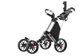 best golf push cart easy handle to improve control and comfort