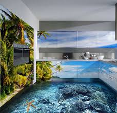 3d bad designer turn any room into a stunning work of with 3d epoxy flooring