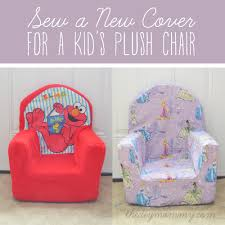 Plush Sofa Cover Sew A New Cover For A Plush Kid U0027s Chair The Diy Mommy