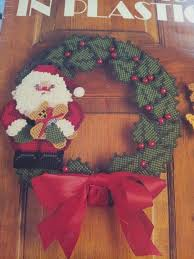47 best plastic canvas wreaths images on plastic