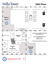Sears Tower Floor Plan Details Chicago Of Data