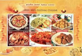 cuisine miniature ms189 india 2017 indian cuisine festival cuisine miniature sheet