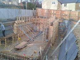 basement with piled foundations northants beautiful basements
