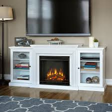 Fireplace Entertainment Stand by Real Flame Frederick White Electric Fireplace Entertainment Center
