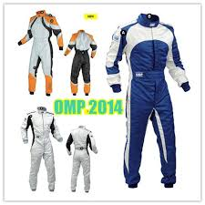 racing jumpsuit 2014 orange blue professional auto overall omp racing suits