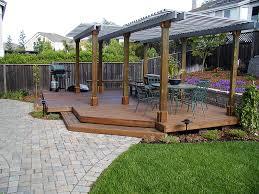 Ideas For A Small Backyard by Garden Design Garden Design With Deck Ideas For A Small Backyard