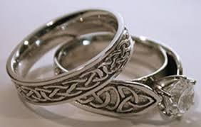 celtic wedding ring wedding band sets easy titanium wedding bands on tacori