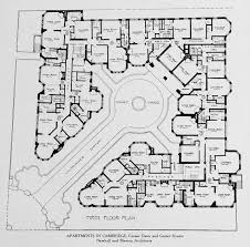 Multifamily Plans by Plan Of An Apartment Complex In Cambridge Floorplan Multi