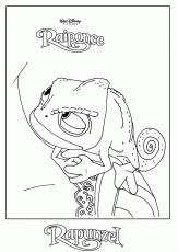 10 pics of tangled pascal coloring pages printable rapunzel