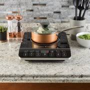 Portable Induction Cooktop Reviews 2013 Sunpentown 1 300w Induction Cooktop Silver Walmart Com