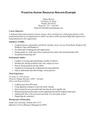 hr resume exles 2 resume exles for human resources hr sle in word senior mana