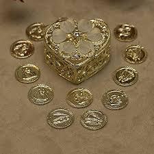 arras para boda heart shaped 3 item gold set 621 wedding lazo rosary arras