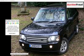 land rover vogue 2005 ebay scam range rover vogue td6 2005 lx55kzy auction fraud