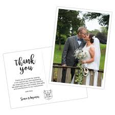 thank you postcards personalised thank you postcards layoutlines