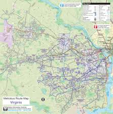 Virginia Tech Campus Map by Virginia Metrobus Map U2022 Mapsof Net