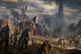 Map Of Mordor Middle Earth Shadow Of War Is So Big That It U0027s Overwhelming The
