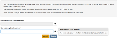 manage my calnet account calnet identity and access management