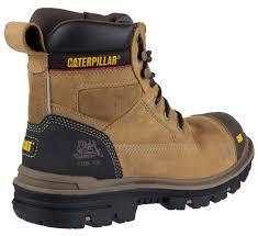 womens safety boots uk mens cat caterpillar gravel steel toe cap safety work boots black