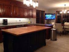 custom made kitchen island handmade kitchen islands carts ebay