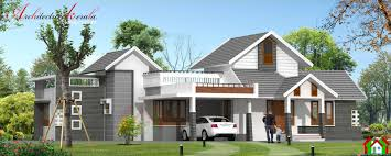 single storied kerala house design