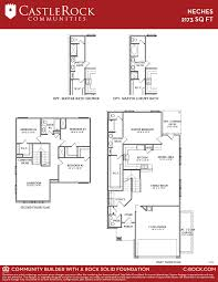 neches cobalt home plan by castlerock communities in cantarra