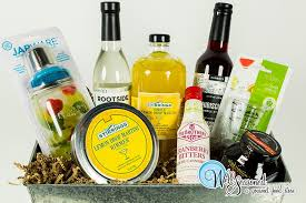 what to put in a wine basket gift baskets boxes well seasoned