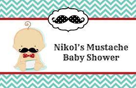 little man mustache baby shower place mats little man mustache