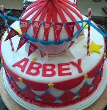 carnival birthday cake just sugar coat it