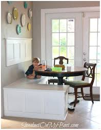 kitchen table with built in bench best 25 built in seating ideas