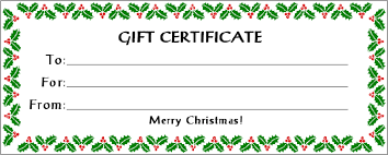 gift certificate printing make gift certificates with gift certificate ideas make