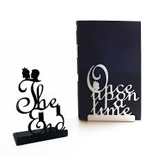 pair of fairy tale bookends by heather alstead design