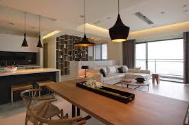 deco salon ouvert sur cuisine deco salon et cuisine ouverte 0 sur en 55 id es open space superbes