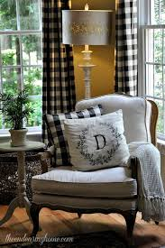 Country Plaid Curtains House Tour House Snooping At The Endearing Home Calico Corners