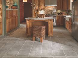 Kitchen Flooring Installation Contemporary Kitchen Mohawk Egyptian Stone Tiled Kitchen Kitchen