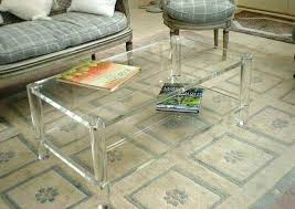 square lucite coffee table lucite coffee table coffee table excellent carpet rugs chairs