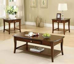 coffee table and end table sets 2 amazon com lincoln park 3 pc table set kitchen u0026 dining