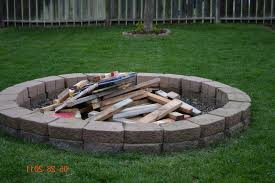 home design simple backyard fire pit ideas traditional large the
