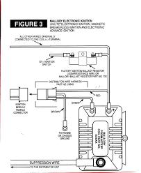 msd ignition wiring diagrams also mallory unilite diagram